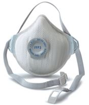 F-0061 Air Plus FFP3 Mask, polypropylene/polyester, white, 60 pcs/box
