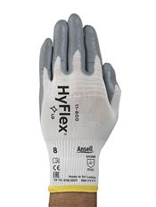 G-0069-7 HyFlex® 11-800, nylon, nitrile coated, grey/white, 20-26,5cm, 7, 12 pairs/bag, 12 bags/box