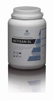 T-0087-300 Actisan-5L, NaDCC, tablet, 300 tablets/tub, 6 tubs/box