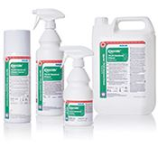 TS-0003-360 Klercide™ 70/30 Denatured Ethanol, 70DE/30WFI, aerosol, 360ml, triple bagged, 360ml/bottle, 1 bottle/triple bag, 24 triple bags/box, sterile