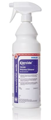 TS-0004-1 Klercide™ 70/30 Pharma Ethanol, 70PE/30WFI, spray, 1l, triple bagged, 1l/bottle, 1 bottle/triple bag, 6 triple bags/box, sterile