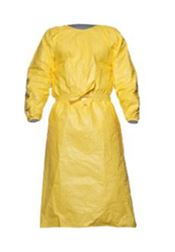 D-0067-L2XL DuPont™ Tychem® 2000C Gown, Tychem®, 83g/m², yellow, L-2XL, 1 pc/bag, 25 bags/box